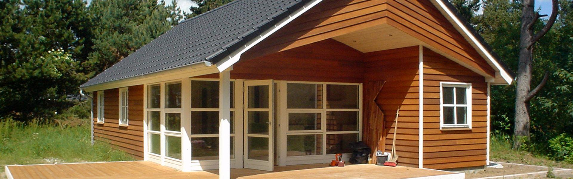 Sommerhus bygget af RBByg